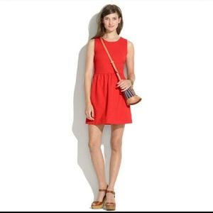 Madewell fit and flare dress